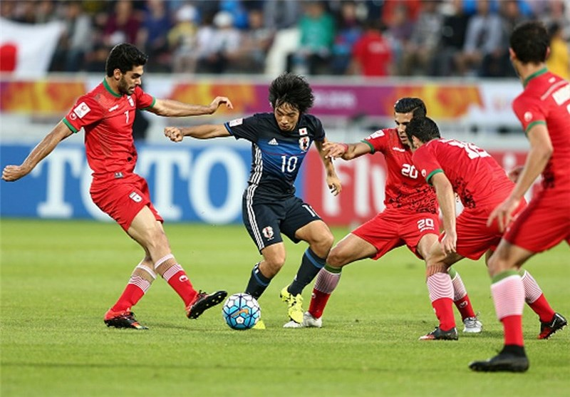 تیم فوتبال امید ایران و ژاپن