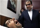 روایت اینستاگرامی وزیر بهداشت از عیادت اولین شهید زنده کشور+تصاویر