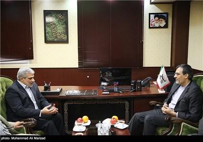 حضور سخنگوی وزارت خارجه در خبرگزاری تسنیم