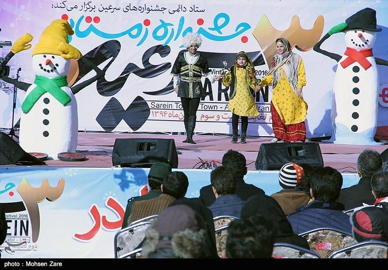 حضور 30 هزار نفر در سومین جشنواره زمستانی سرعین