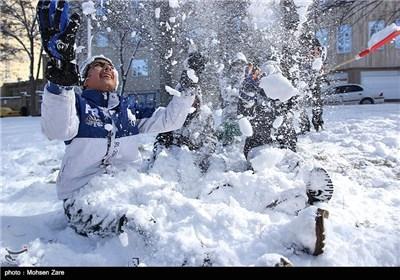 برف در اردبیل