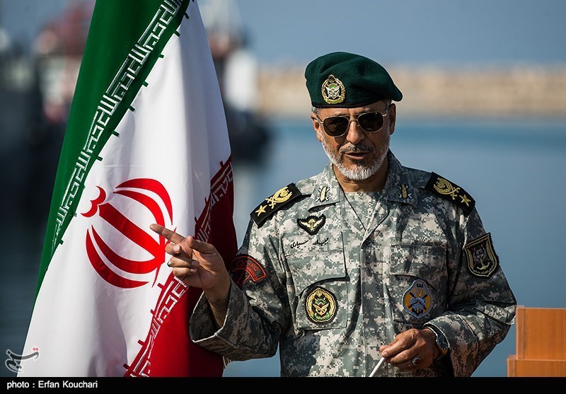 US Warship Was in Drill Zone for Reconnaissance, Iran's Navy Commander Says