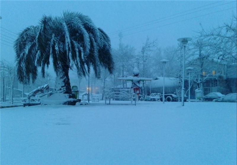 برف لاهیجان