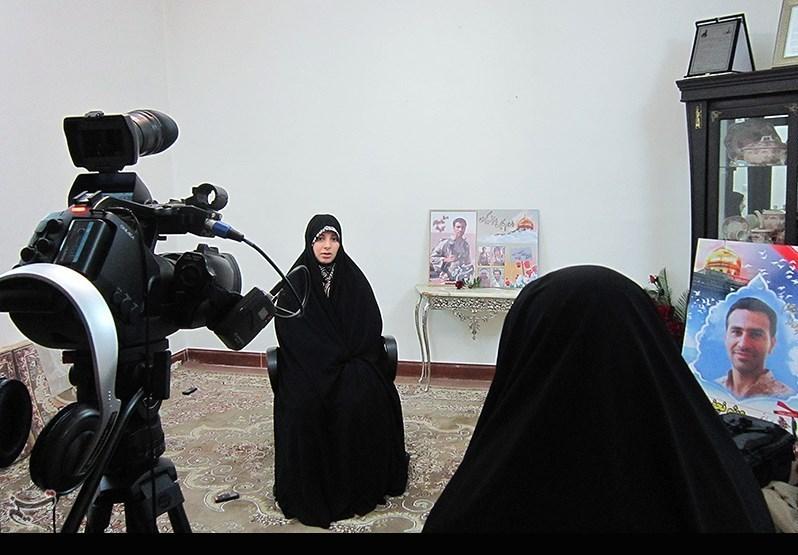 عاشقانههای یک همسر از شهید مدافع حرم :عشقش به حضرت زینب(س) بیشتر از دخترش، حلما بود