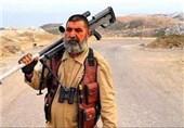 تک تیرانداز کهنه کار عراقی در جنگ با داعش +عکس