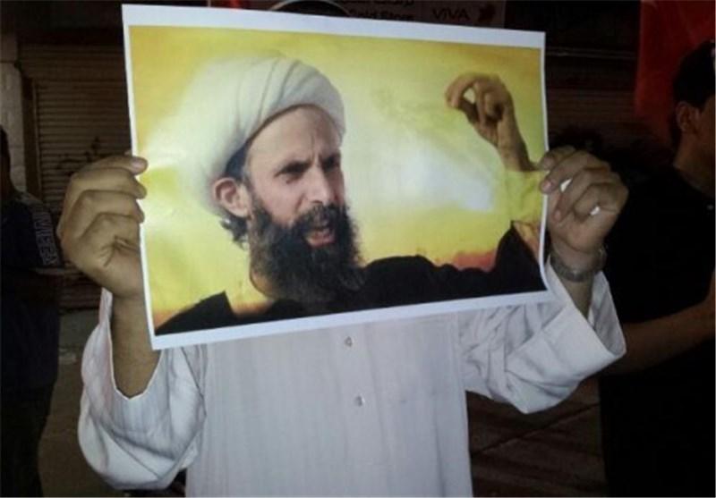 تظاهرات در زادگاه شهید النمر با شعار «او همیشه زنده است»