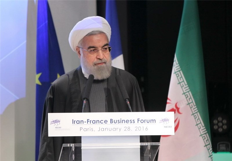 Iranian President: Terrorism, Daesh Syria's Main Problem