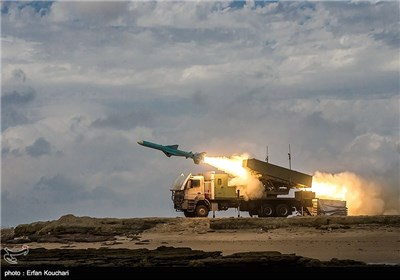 "Iran's Navy Test-Fires 'Noor' Anti-Ship Cruise Missiles Navy Test-Fires ""Noor"" Anti-Ship Cruise Missile"