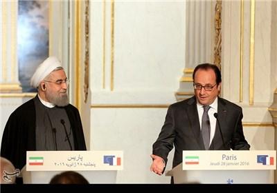 Iran's President in Historic France Visit