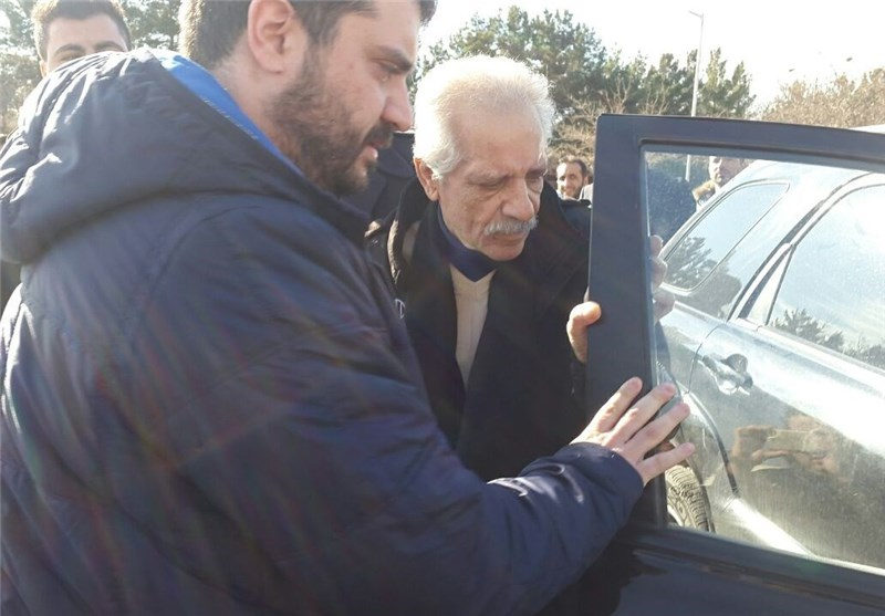 حضور پورحیدری در جمع آبیپوشان و جشن تولد ترابپور
