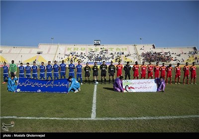 دیدار تیمهای فوتبال استقلال خوزستان و فولاد خوزستان - اهواز