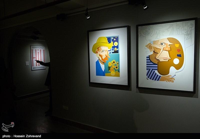 افتتاحیه جشنواره هنرهای تجسمی فجر