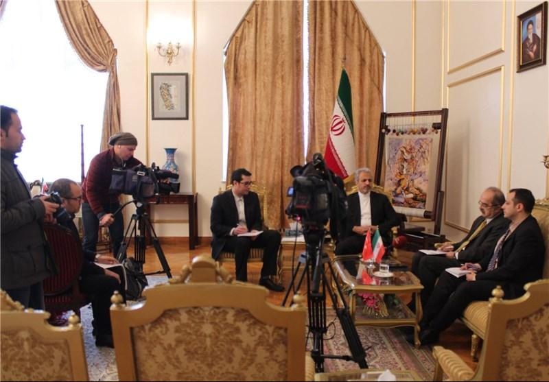 بیکدلی سفیر ایران در ترکیه