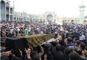 اصفهان| مادر سردار شهید مصطفی ردانی پور به فرزند شهیدش پیوست