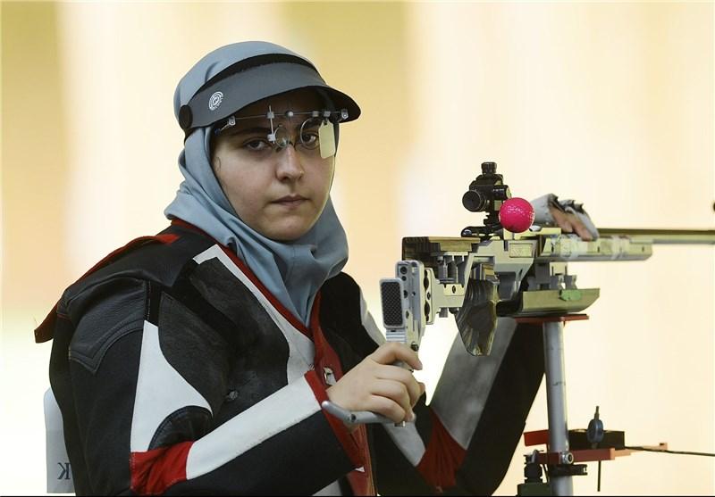 مهلقا جامبزرگ پرچمدار کاروان ایران در بازیهای کشورهای اسلامی شد