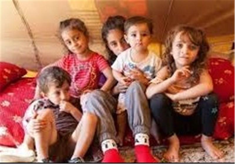 اطفال لاجئین