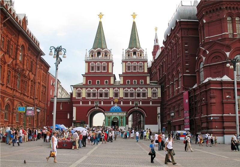 جامعه روسیه میدان سرخ مسکو