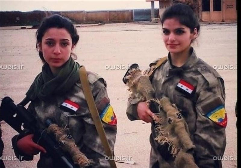 IŞİD'İN BELASI OLAN KIZLAR - (Foto)