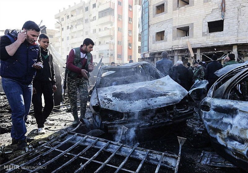 Car Bomb Near Damascus Kills Six People