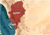 کسر زحفین لمرتزقة الجیش السعودی وإطلاق صاروخی زلزال 1 على تجمعاتهم فی عسیر