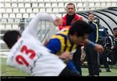 دیدار تیم های فوتبال گسترش فولاد تبریز و صبای قم