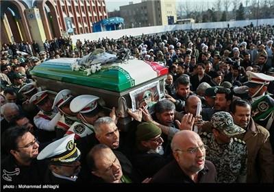 مراسم تشییع پیکر امیر سرلشکر محمد سلیمی