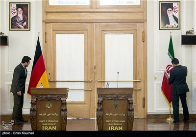 Iranian, German FMs Meet in Tehran