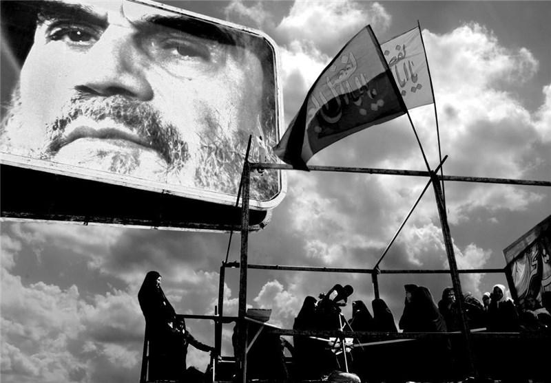 حماسه دیروز انقلابیون به دست هنرمندان امروز ترسیم میشود