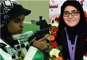 افتخار میکنم که با حجاب اسلامی در مسابقات شرکت میکنم