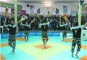 جشنواره ورزشهای زورخانهای و کشتی پهلوانی دانش آموزان در بیرجند آغاز شد