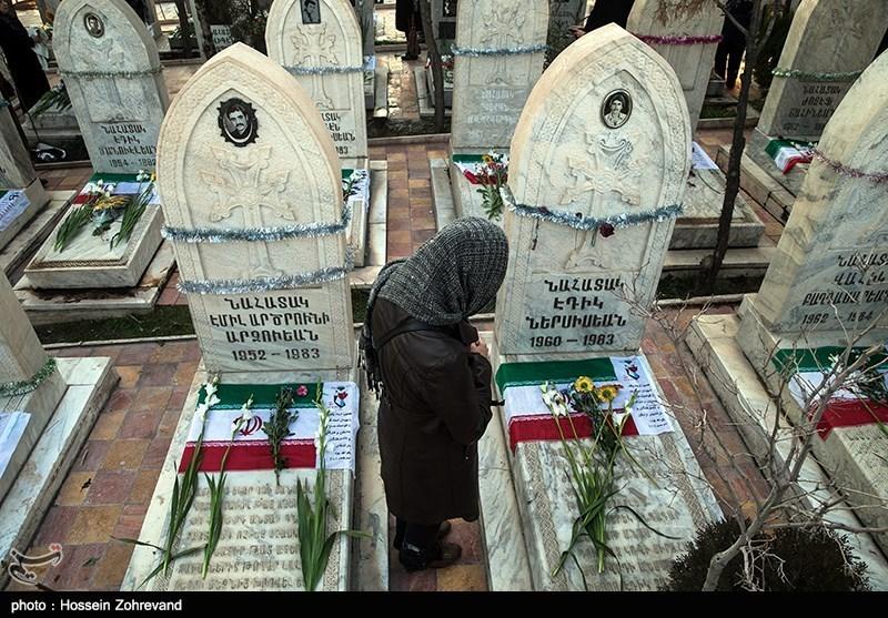 Photos: Iranians honor Christian martyrs