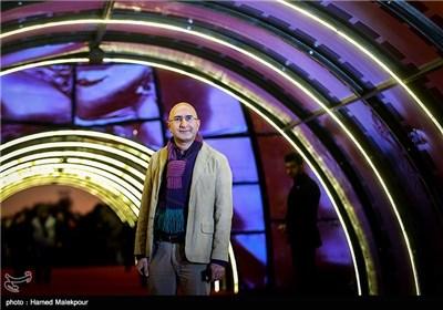 منصور ضابطیان در چهارمین روز سی و چهارمین جشنواره فیلم فجر - برج میلاد