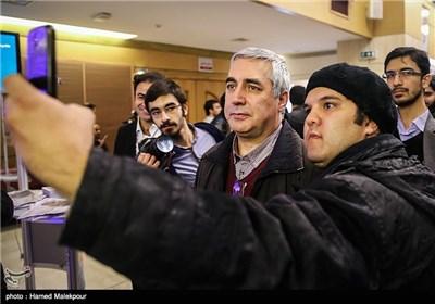 ابراهیم حاتمیکیا در چهارمین روز سی و چهارمین جشنواره فیلم فجر - برج میلاد