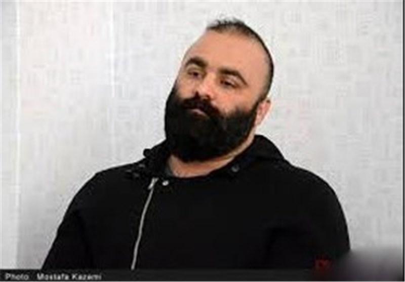 شاه مازندران: ملیپوش کشتی بودم