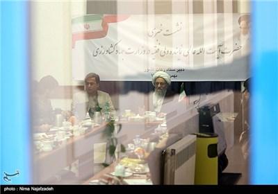 نشست خبری آیت الله عالمی در مشهد