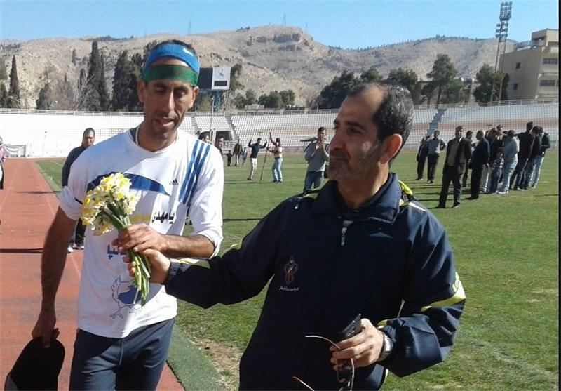 ارتقای رکورد ملی دوی فوقماراتن توسط دونده شیرازی