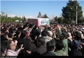 پیکر مطهر شهید علیرضا حاجیوند قیاسی به دزفول بازگشت