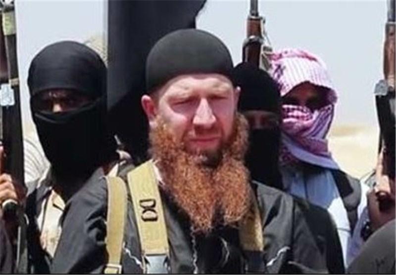 عمر الشیشانی سرکرده چچنی تروریست های سوریه