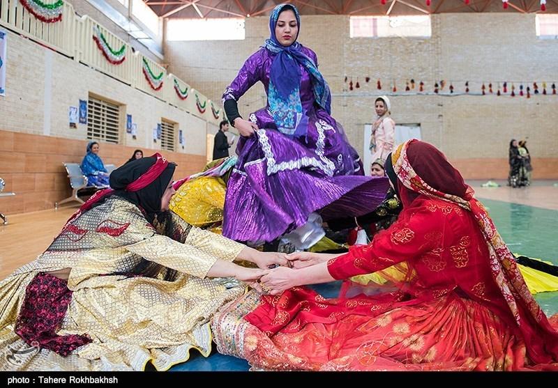 چهارمین دوره مسابقات بومی محلی بانوان شیراز