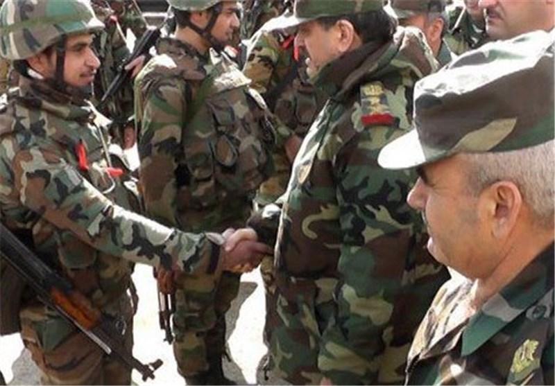 بازدید فرمانده ارتش سوریه از عتمان