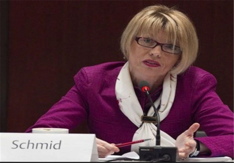 هلگا اشمید: یک مسئولیت جمعی برای حفظ برجام داریم