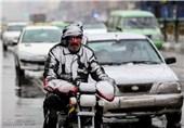 بارش برف و سرما در تهران2