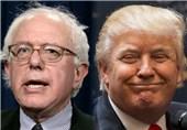 پیروزی سندرز و ترامپ در انتخابات مقدماتی نیوهمپشایر