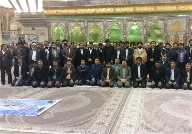 مهاجرین در حرم امام خمینی 2