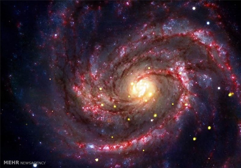 Milky Way Black Hole Seemingly Changed Color of Nearby Stars