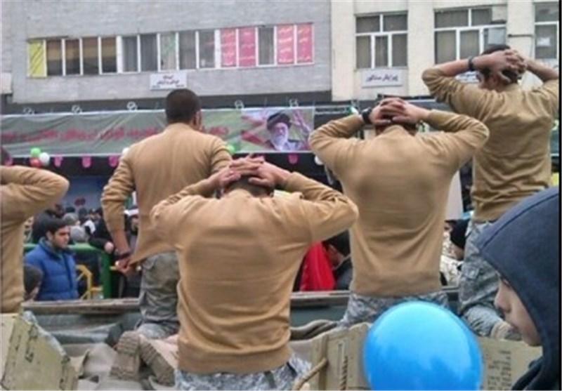 المارینز الأمریکان فی مسیرات بهمن بطهران !؟+ صور