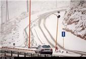 بارش برف در بیرجند - خراسان شمالی