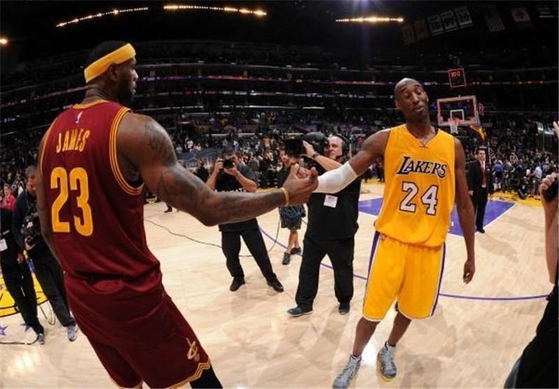 لیگ NBA| جیمز از رکورد برایانت گذشت