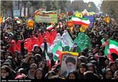 مراسم باشکوه راهپیمایی یومالله 22 بهمن در کرمان آغاز شد