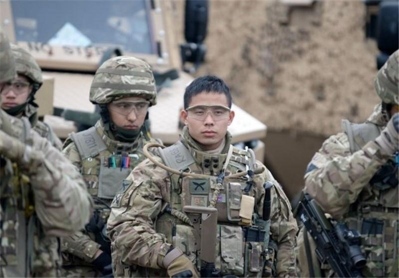 نیروهای انگلیسی